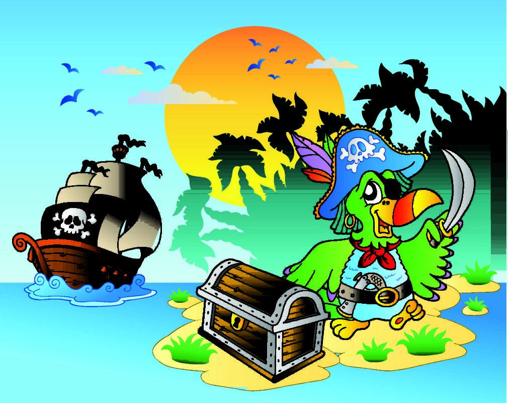 Летием, картинки на пиратскую тему для детей
